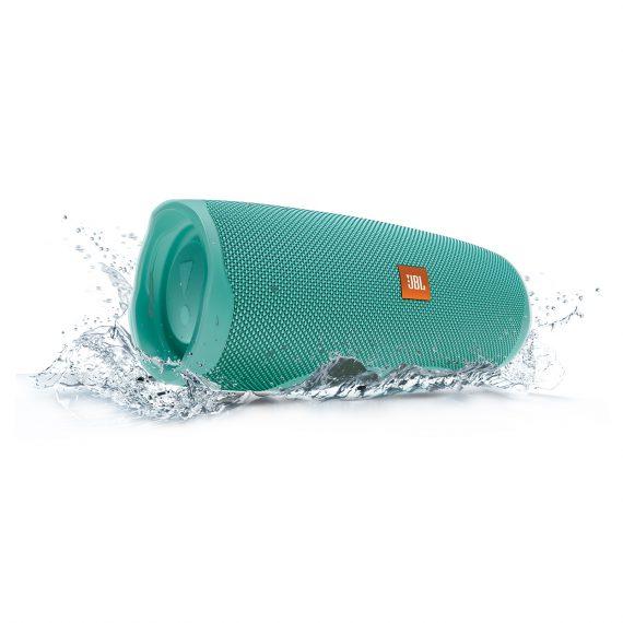 JBL_Charge4-Water_Splash_Teal_Hero-1605x1605px