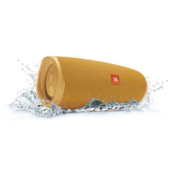 JBL_Charge4-Water_Splash_Yellow_Hero-1605x1605px